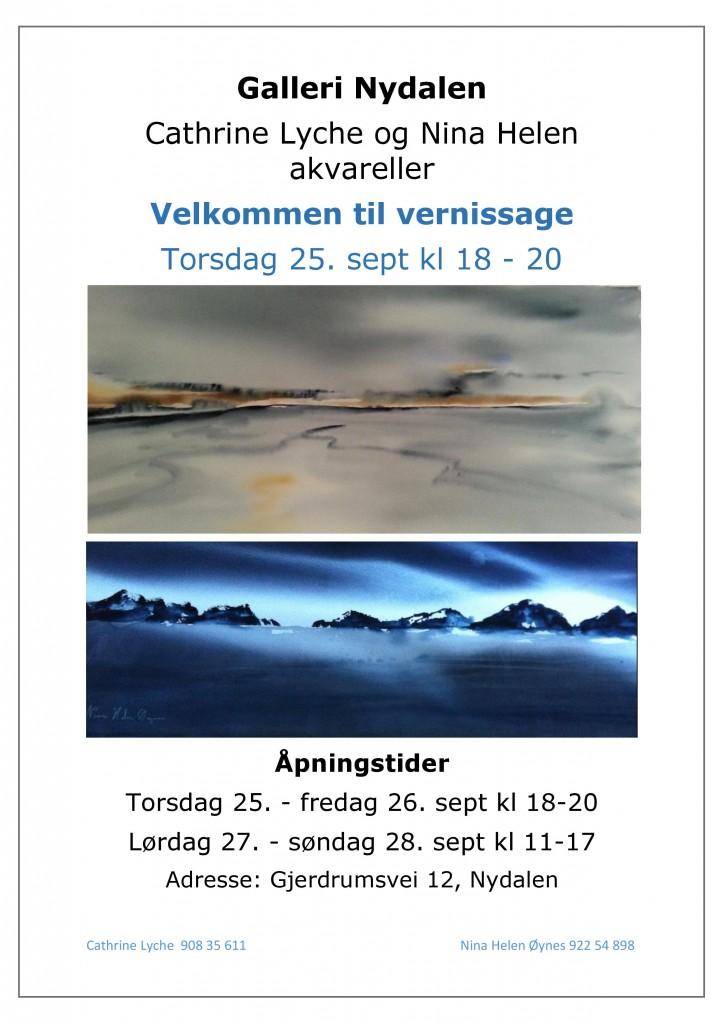 Velkommen til salgsutstilling vernissage Nydalen 2014