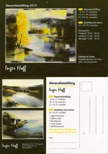 akvarellutstilling 2012 invitasjon